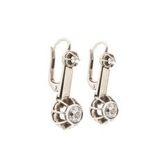 Earrings Pendant Diamond