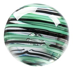 Earth Glass Sphere by Vittore Frattini