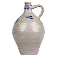 Earthenware Jar from Alsace Region, France, 1920s