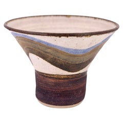 Earthenware Pottery Planter in the Style of David Cressey / Robert Maxwell