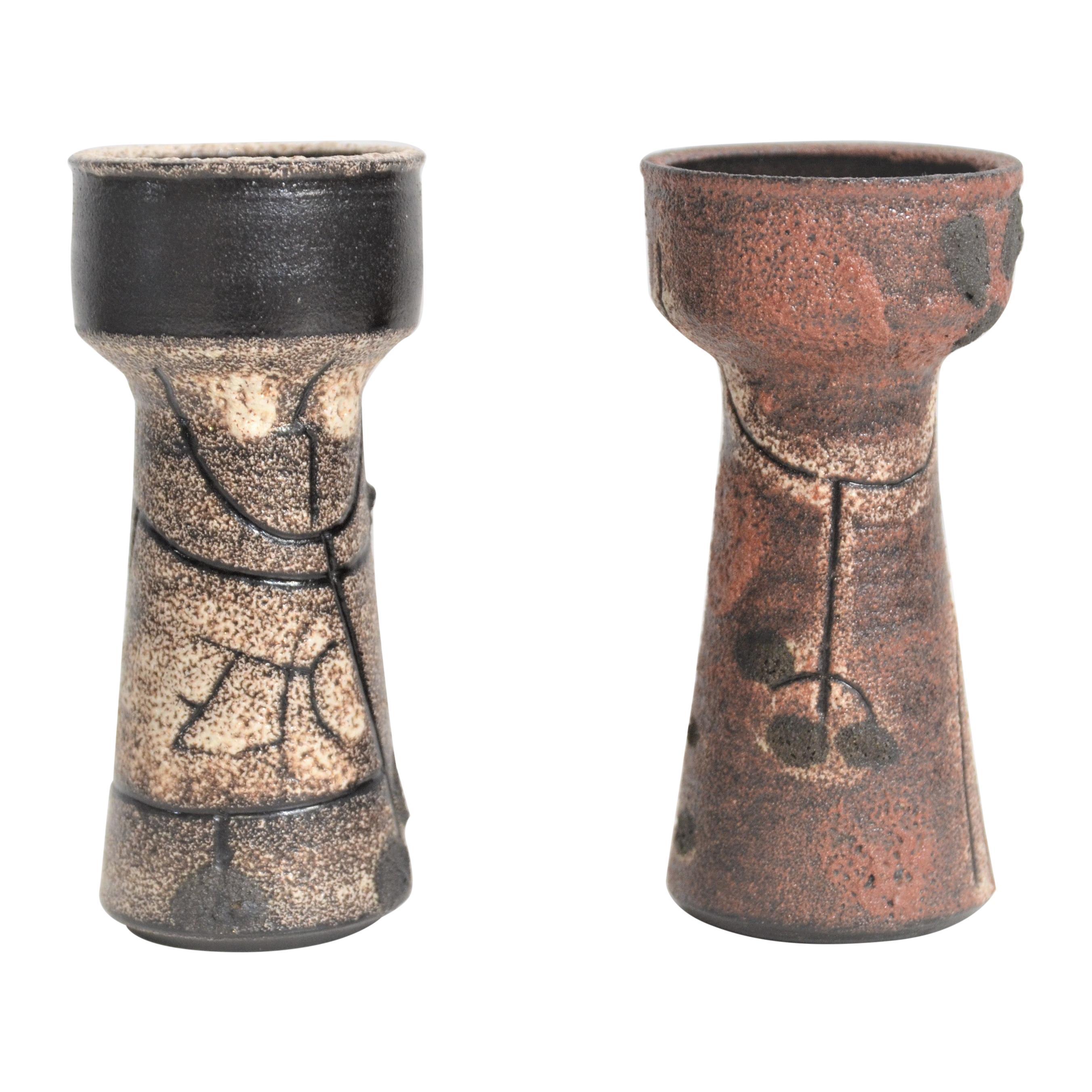 Earthenware Vases Jaap Domisse, Netherlands