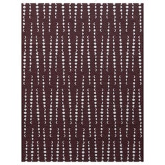 Earthlight Moon Woven Commercial Grade Fabric in Astra, Gray and Burgundy