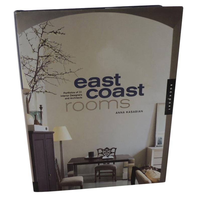 East Coast Rooms Coffee Table Book