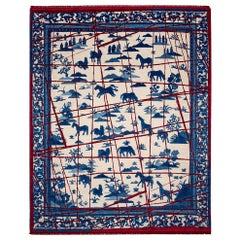 East Collection Wool and Silk Hand Knotted Rugs