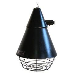 East German Industrial Lamp from VEB Narva Artas Arnstadt, 1960s