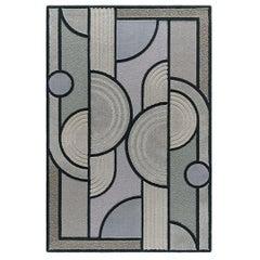 East of the Sun Rug, Grey Rectangular Wool Geometric, Lara Bohinc for Kasthall