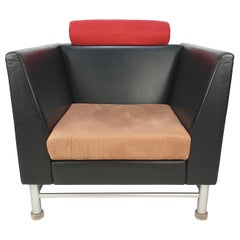 East Side Lounge Chair by Ettore Sottsass for Knoll, Italy, 1980's