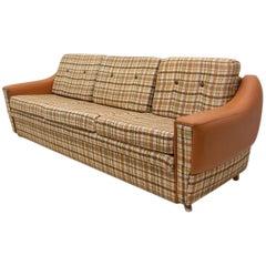 Eastern Bloc Vintage Sofa, Czechoslovakia, 1980s