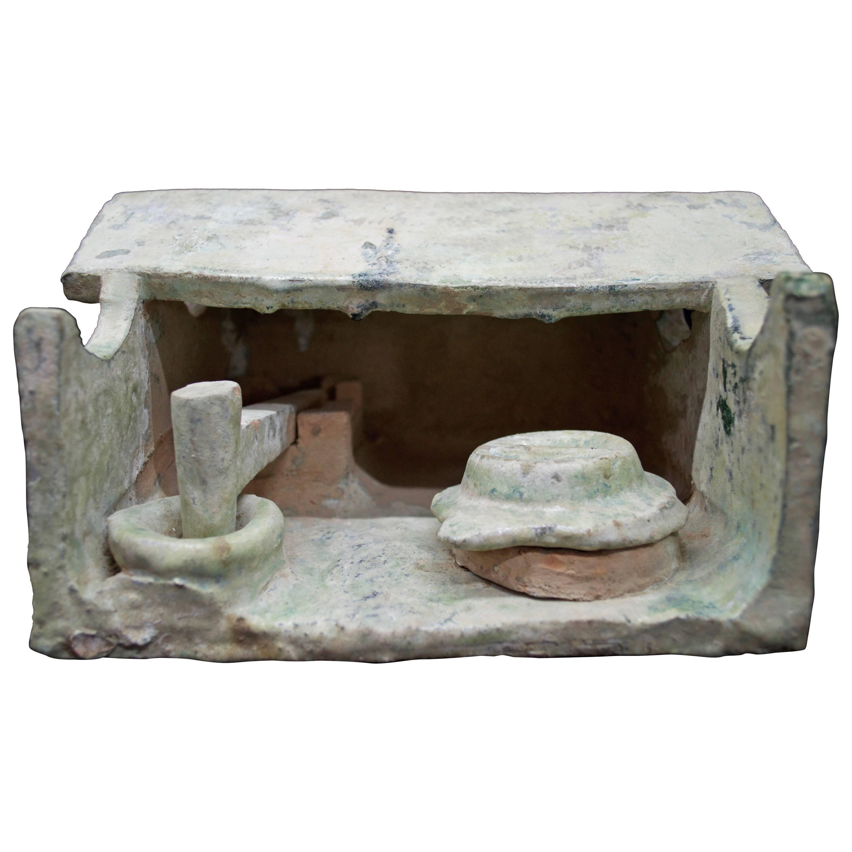 Eastern Han Dynasty Terracotta Barn Workshop, China '206BC - 220AD'  Ex-Museum