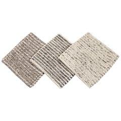 Easton Collection Handwoven Wool Textured Custom Rug