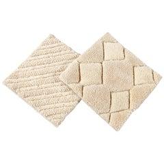 Easton Collection Textured Wool Custom Rug