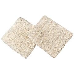 Easton Collection Textured Wool Custom Shag Rug