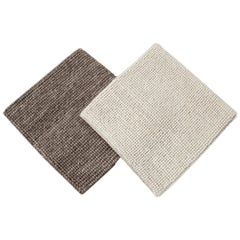 Easton Collection Woven Wool Textured Custom Rug