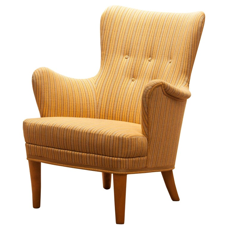 Mid-Century Modern Easy Arm Lounge Chair