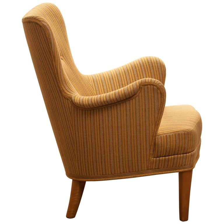 Swedish Easy Arm Lounge Chair