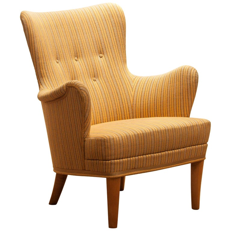 Easy or lounge chair called