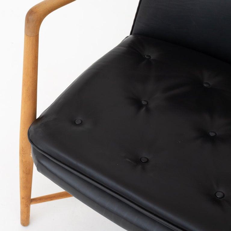 Oiled Easy Chair by Finn Juhl For Sale