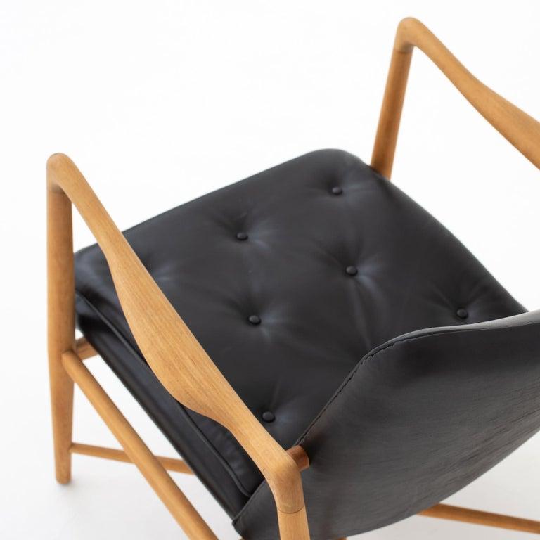 Beech Easy Chair by Finn Juhl For Sale