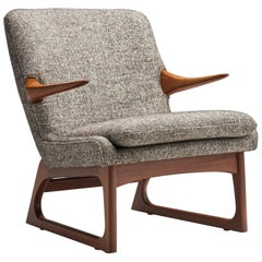 Easy Chair by Fredrik A. Kayser for Vatne, Norway, 1960s