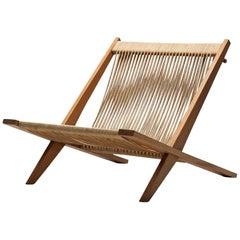 Easy Chair by Jørgen Høj and Poul Kjærholm, Denmark, 1952