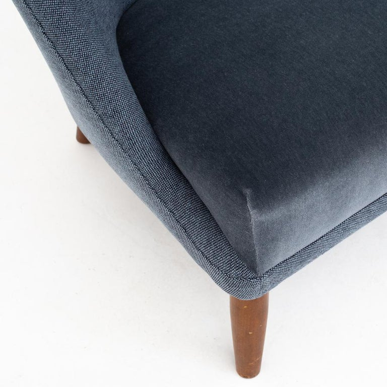 Danish Easy Chair by Kurt Østervig For Sale