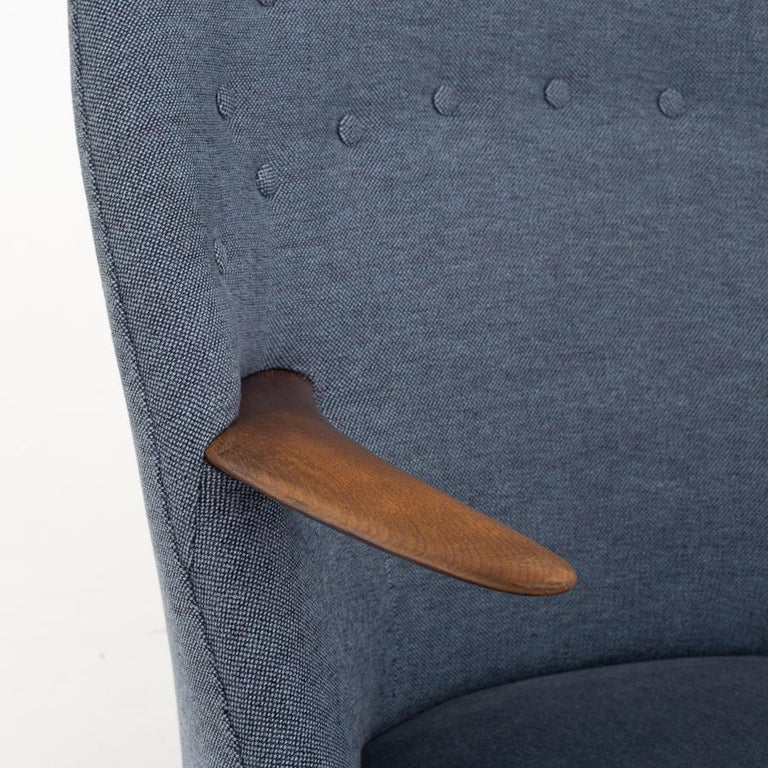 Patinated Easy Chair by Kurt Østervig For Sale