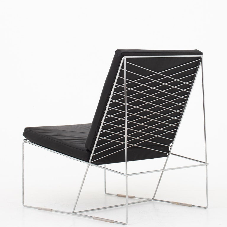 Scandinavian Modern Easy Chair by Niels Jørgen Haugesen For Sale