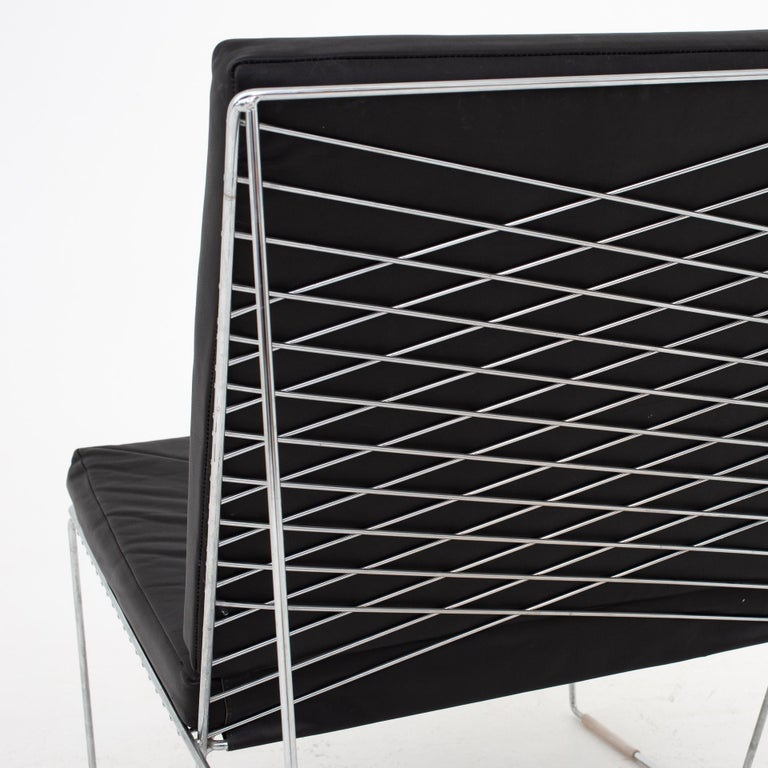 Easy Chair by Niels Jørgen Haugesen In Good Condition For Sale In Copenhagen, DK