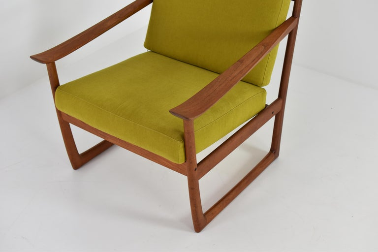 Easy Chair by P. Hvidt and O. Molgaard-Nielsen for France & Søn, Denmark 1960's In Good Condition For Sale In Antwerp, BE