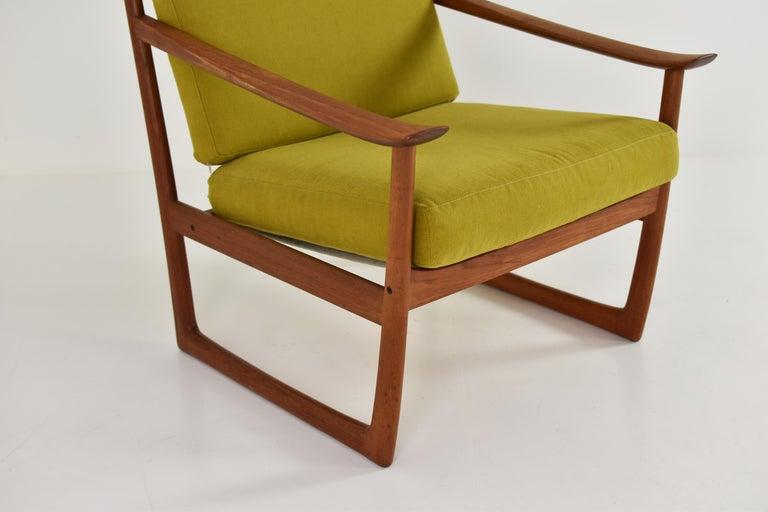 Teak Easy Chair by P. Hvidt and O. Molgaard-Nielsen for France & Søn, Denmark 1960's For Sale