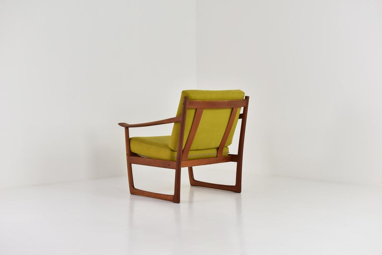 Easy Chair by P. Hvidt and O. Molgaard-Nielsen for France & Søn, Denmark 1960's For Sale 1