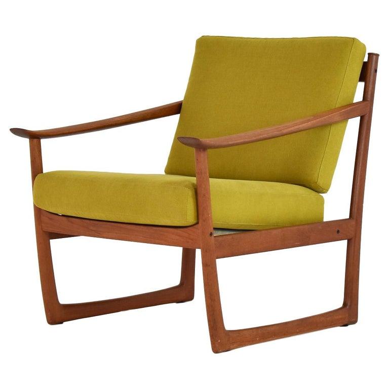 Easy Chair by P. Hvidt and O. Molgaard-Nielsen for France & Søn, Denmark 1960's For Sale