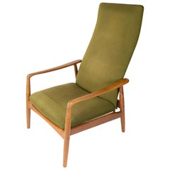 Easy Chair Designed by Alf Svensson and Manufactured by Fritz Hansen, 1960s