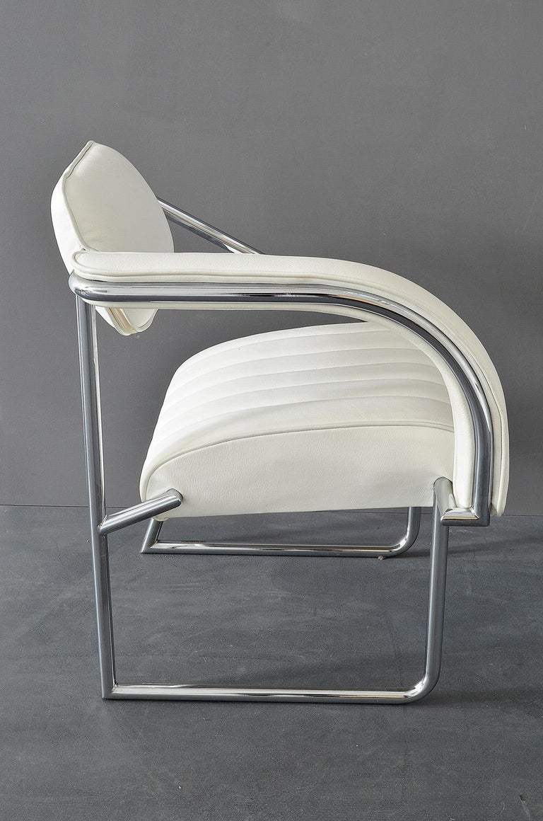 Easy chair designed by Eileen Gray