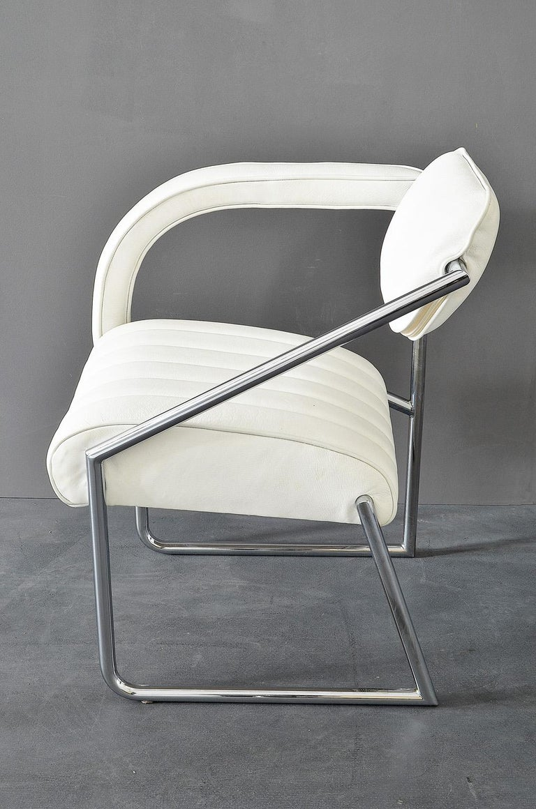Mid-Century Modern Easy Chair Designed by Eileen Gray