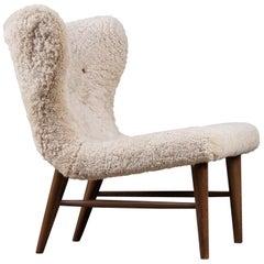 Easy Chair Designed by Erik Bertil Karlén, Sweden, 1950s