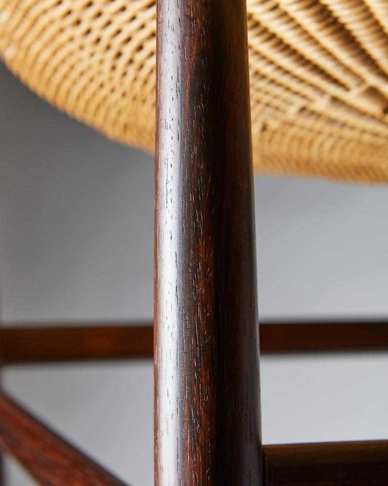 Easy Chair Designed by Nanna Ditzel for Ludvig Pontoppidan, Denmark, 1950's For Sale 4