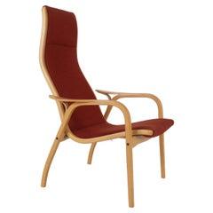 Easy Chair in Beech by Yngve Ekström for Swedese model Lamino, Sweden