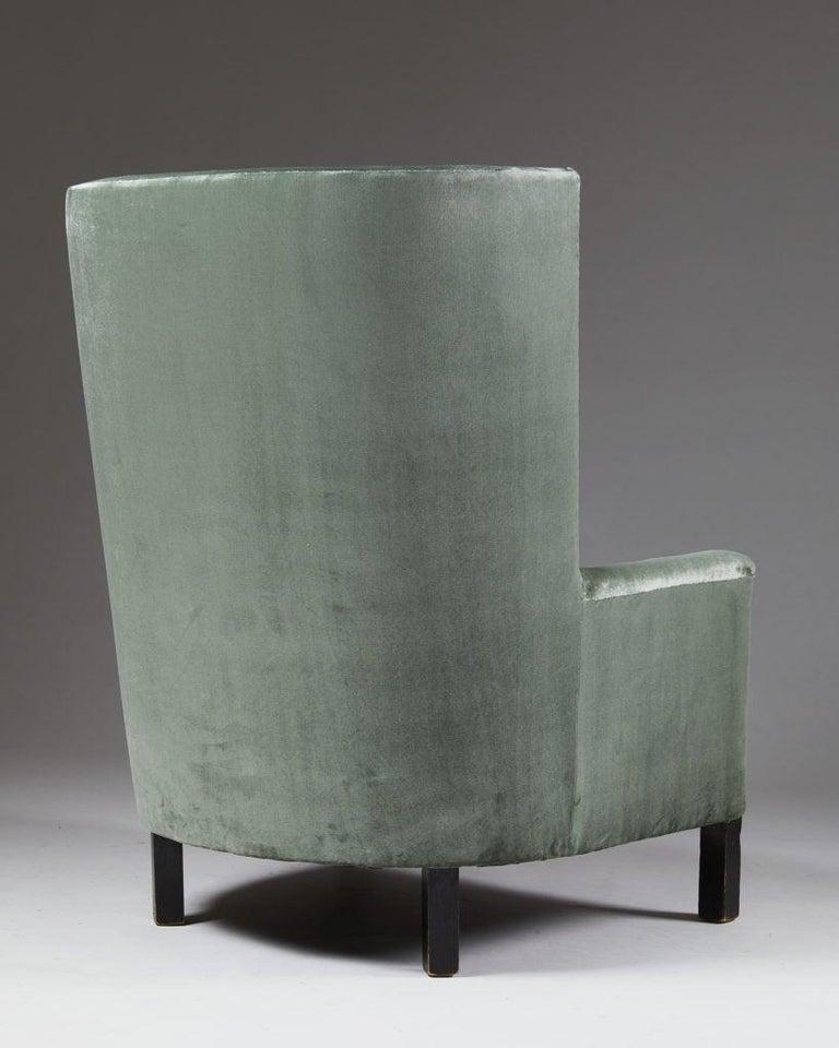 Swedish Easy Chair Model 151 Designed by Björn Trägårdh for Svenskt Tenn, Sweden, 1930s For Sale