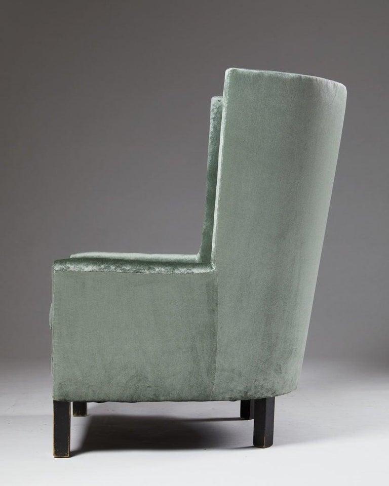 Easy Chair Model 151 Designed by Björn Trägårdh for Svenskt Tenn, Sweden, 1930s In Good Condition For Sale In Stockholm, SE