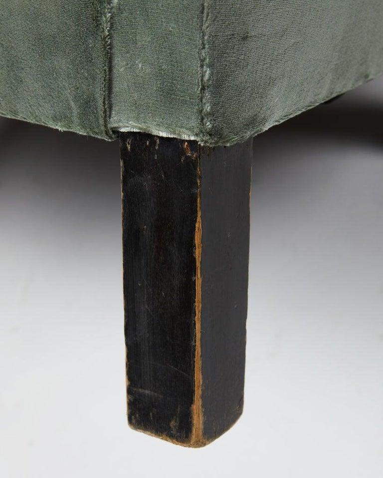 Mid-20th Century Easy Chair Model 151 Designed by Björn Trägårdh for Svenskt Tenn, Sweden, 1930s For Sale