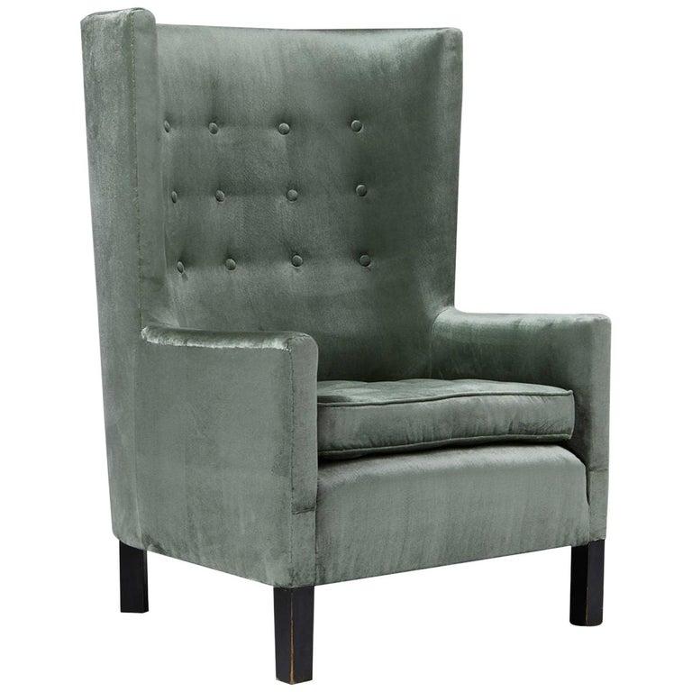 Easy Chair Model 151 Designed by Björn Trägårdh for Svenskt Tenn, Sweden, 1930s For Sale