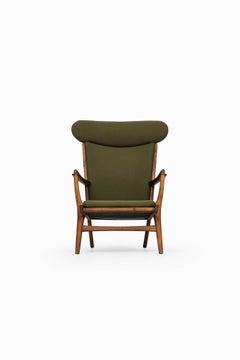 Easy Chair Model AP-15 Designed by Hans Wegner Produced by AP-Stolen in Denmark