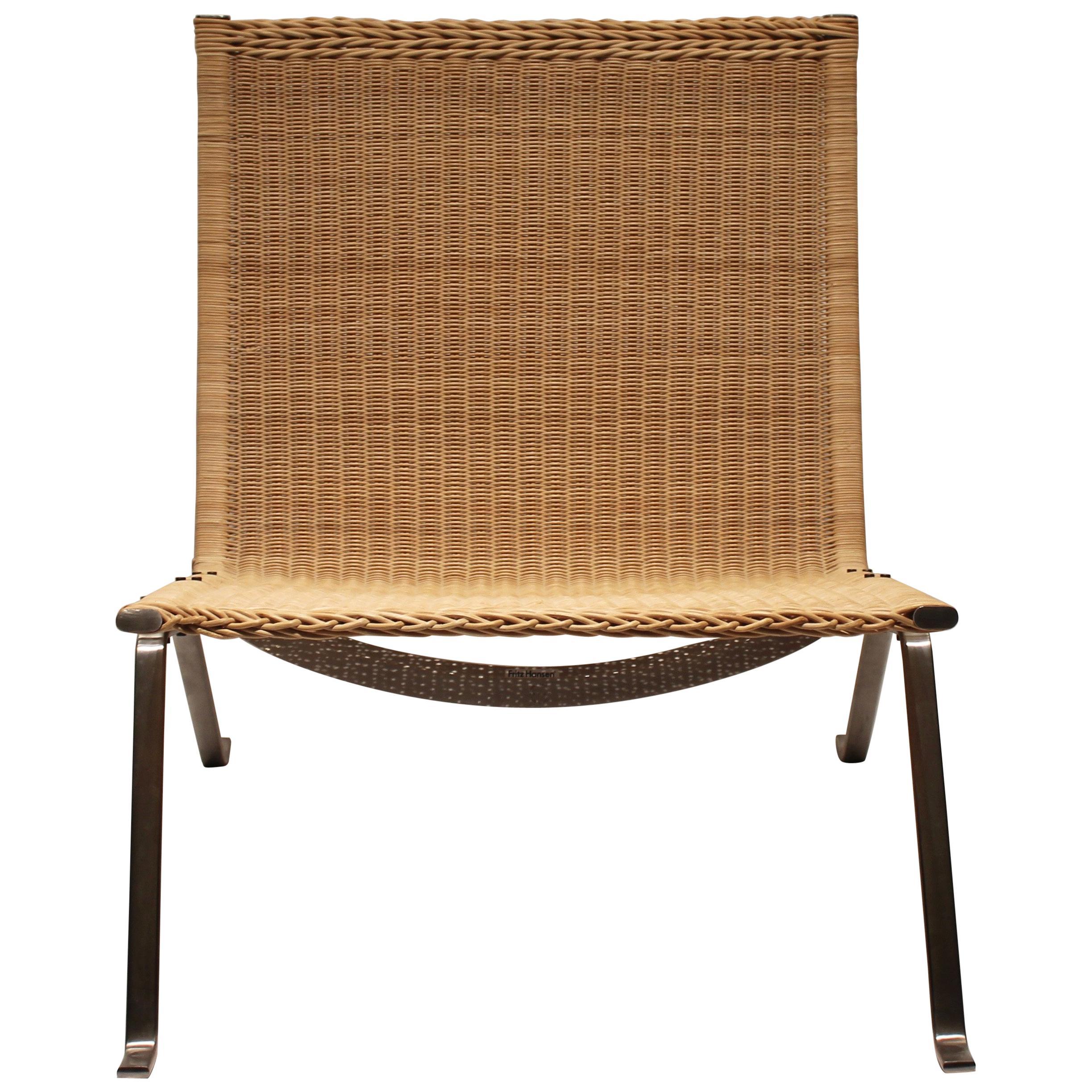 Easy Chair, Model Pk22, Designed by Poul Kjærholm, 2000