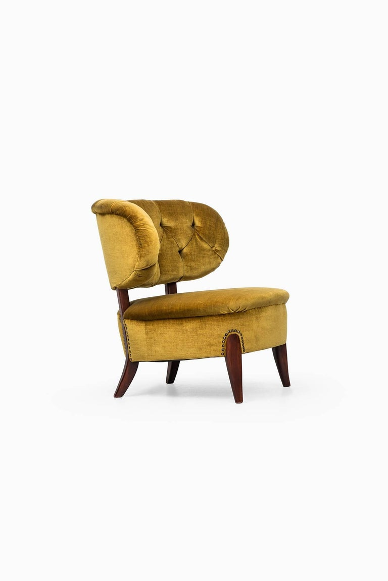Swedish Easy Chair Model Schulz Designed by Otto Schulz Produced by Boet in Sweden For Sale