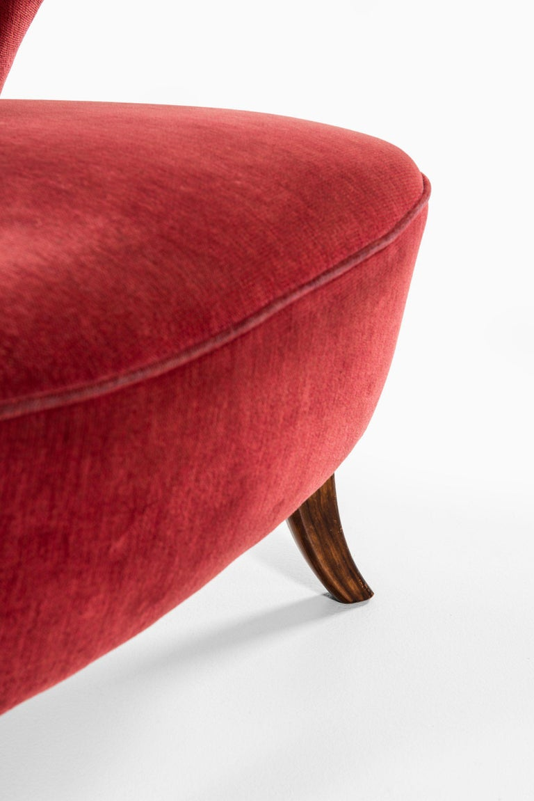 European Easy Chair Probably Produced in Denmark For Sale