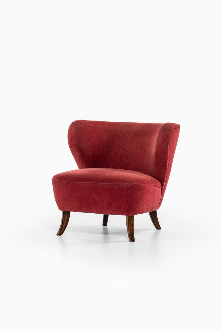Mid-20th Century Easy Chair Probably Produced in Denmark For Sale