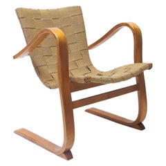 """Easy Chair """"Tösen"""" Designed by G.A Berg, 1940"""