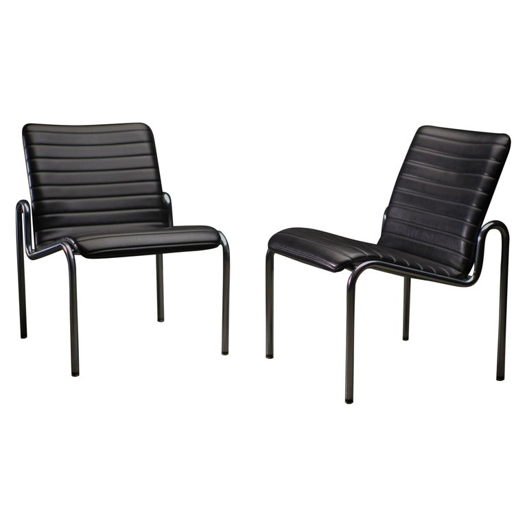 Easy Chairs 703 by Kho Liang Ie For Sale