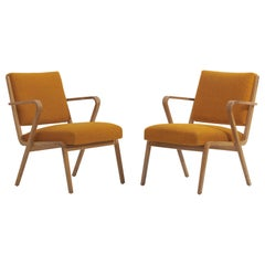 Easy Chairs by Selman Selmanagic for VEB Deutsche Werkstätten Hellerau, DDR 1950